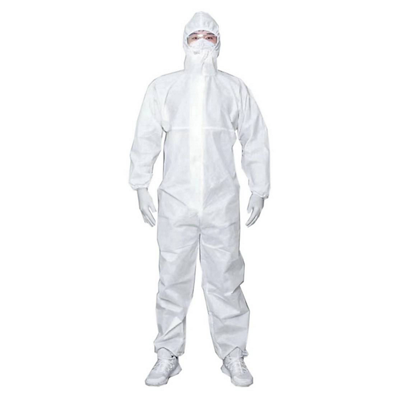 Buy Medsafe 401suk Disposable Ppe Protective Hazmat Suit Isolation Coveralls Size Xl Online Singapore Ishopchangi